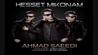 آهنگ حست میکنم از احمد سعیدی