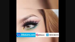 دسیو عسلی روشن-DibaLens.com  | Desio Caramel Brown