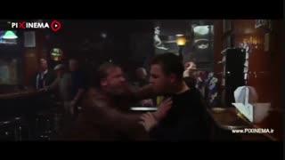 سکانس درگیری دی کاپریو در کافه فیلم رفتگان(The Departed,2006)