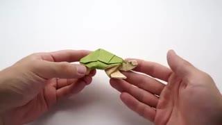 خرید فیلم آموزش درست کردن اوریگامی لاک پشت