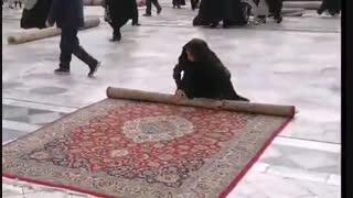 وقتی همه خادم امام رضا(ع) میشوند  