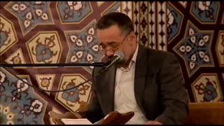 بخشی از مناجات خوانی حاج محمود کریمی در حرم مطهر امام رضا علیه السلام  
