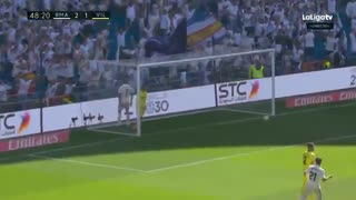 خلاصه دیدار رئال مادرید 3_2 ویارئال (هفته 36 لا لیگا اسپانیا)