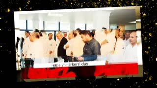 مراسم نکوداشت روز جهانی کارگر سال 1398 شرکت دارویی و بهداشتی لقمان