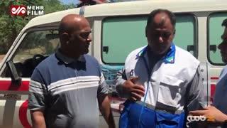 کمک های خودجوش حشدالشعبی به مردم خوزستان