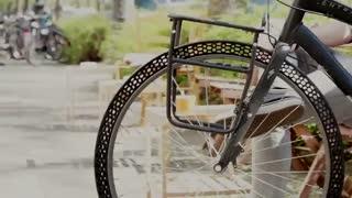 پرینتر سه بعدی و تایر بدون هوای دوچرخه