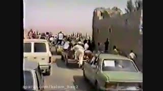 تشییع جنازه شیخ ضیائی رحمه الله علیه