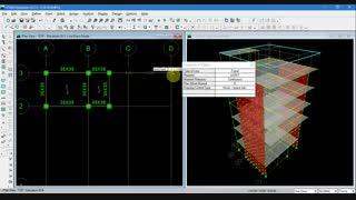 کار کردن با ابزار گیره ها(SNAP) در ایتبس|پکیج محاسبات سازه