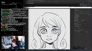 Drawing Stream: Facial Expression Tutorial Pt.1