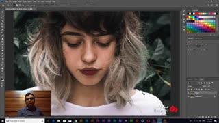آموزش روتوش عکس و صورت در فتوشاپ