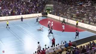دیدار تیم های بار بار و النجمه در فینال لیگ هندبال بحرین سال 2019