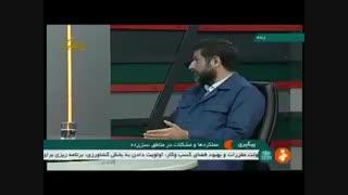 صحبتهای عجیب استاندار خوزستان در مورد امکانات مناطق سیلزده