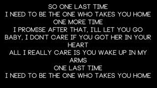 Ariana Grande - One Last Time ... Lyrics