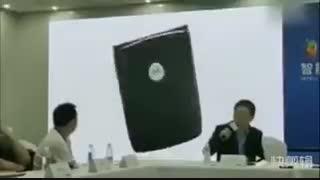 وقتی لنوو ویدئوی مفهومی یک کاربر را در کنفرانس مطبوعاتی پخش میکند!