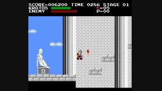 6 دقیقه گیم پلی بازی کمیاب و کلاسیک خدای جنگ God of War 2 Classic برای کامپیوتر