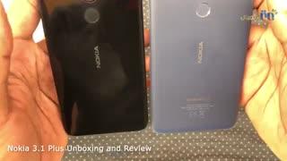 ویدئوی جعبه گشایی و بررسی اجمالی گوشی نوکیا مدل ۳٫۱ پلاس