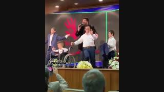 رقص و شادی در اجرای بهنام بانی برای خیریه لیلا بلوکات