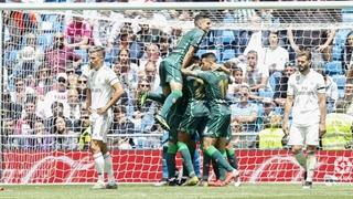 خلاصه دیدار رئال مادرید 0_2 رئال بتیس (هفتۀ سیوهشتم لالیگای اسپانیا)
