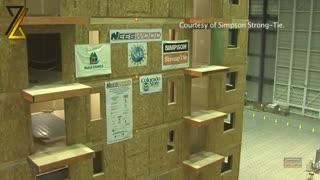 تست لرزه ای ساختمان چوبی|مجموعه آموزشی و فنی مهندسی 2800