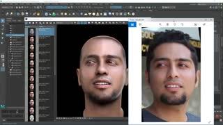 Face Modeling 14 : مدل سازی چهره قسمت چهاردهم