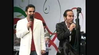 شوخی حسن ریوندی با احسان علیخانی