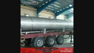 تولید مخازن استیل پارس مبدل در قزوین