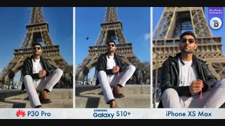 مقایسه جامع دوربین های  سه گوشی  Samsung S10 Plus، Huawei P30 Pro و iphone XS Max به فارسی