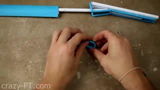 آموزش ساخت چاقو بازوی حرکتی با کاغذ