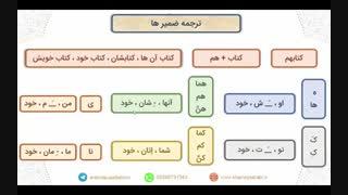 آموزش ترجمه عربی قسمت ضمیرها خانه عربی