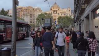 Barcelona wonderful city   In spain