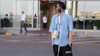 کریس وو در فرودگاه بیجینگ 2019.05.23