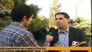 افشاگری سعید آذری درخصوص دیدار ذوبآهن و استقلال در سال 87