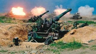 مانور نظامی با تسلیحات واقعی توسط تایوان برای هشدار به چین