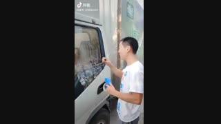 آموزش درب قفل شده ماشین