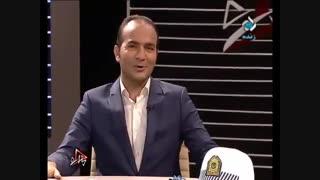 کل کل ریوندی با هومن حاجی عبداللهی در برنامه زنده تلویزیون