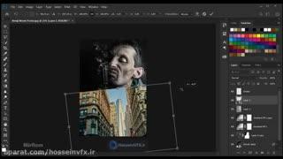 آموزش طراحی پوستر سینمایی در فتوشاپ