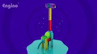 اسباب بازی آموزشی انجینو - سری کیوبویدز