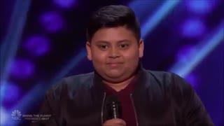 اجرای شرکت کننده 12 ساله امریکاز گات تلنت 2019