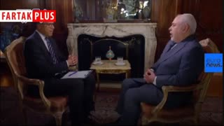 ظریف در انبیسی: این آمریکاست که با آتش بازی میکند