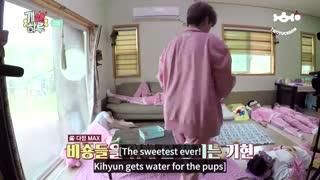 قسمت 3 برنامه Puppy Day  از Monsta x