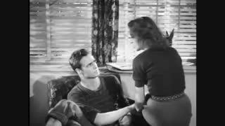 """تست بازیگری مارلون براندو برای فیلم """"Rebel Without a Cause"""" در سال ۱۹۴۷"""